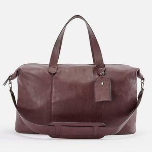 Handbags - Leather Weekender Tote